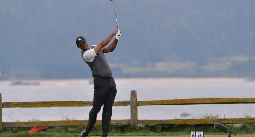 Tiger Woods at the 2019 U.S. Open.