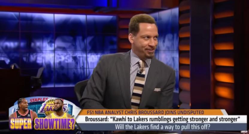 Chris Broussard on Kawhi to the Lakers.