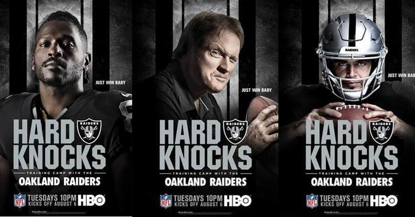 Hard Knocks promotional posters.