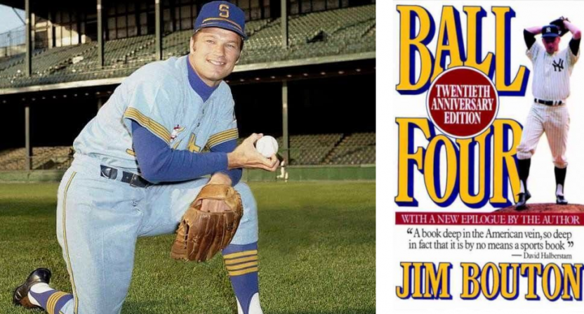 Jim Bouton and his book Ball Four.