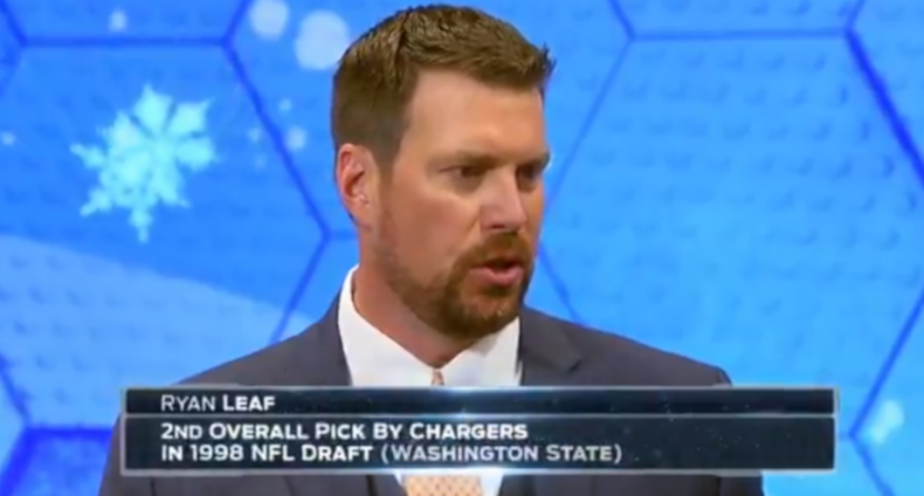 Ryan Leaf on Fox in 2016.