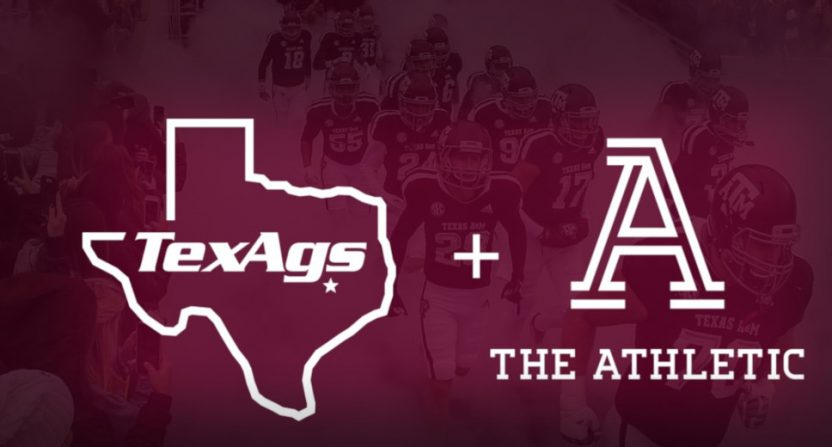 TexAgs announced a partnership with The Athletic.
