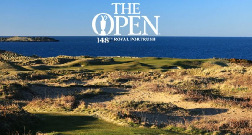 The Open Championship at Royal Portrush.
