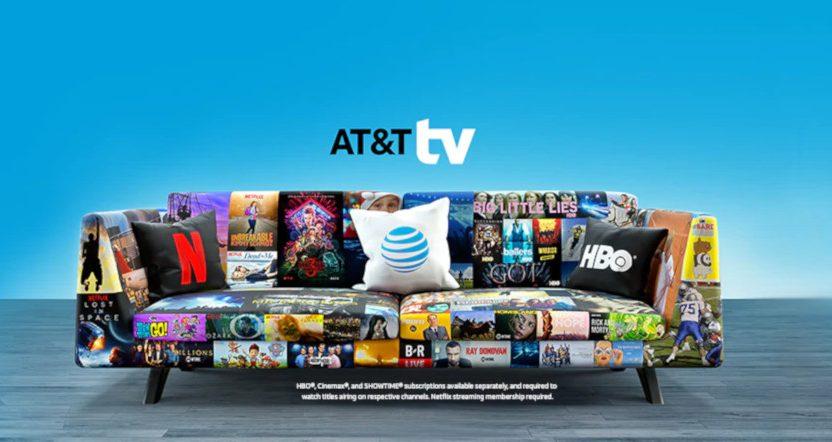 AT&T TV.