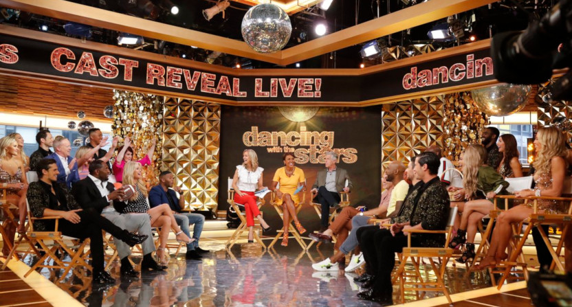 The Dancing With The Stars cast.