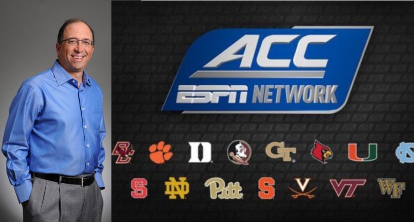 Dean Jordan led the ACC's negotiations with ESPN over the ACC Network.