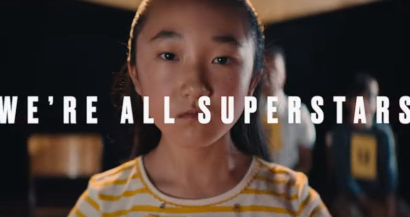 "A Smackdown ""We're All Superstars"" ad from Fox and Wieden+Kennedy."