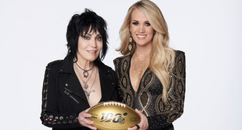 Joan Jett and Carrie Underwood.