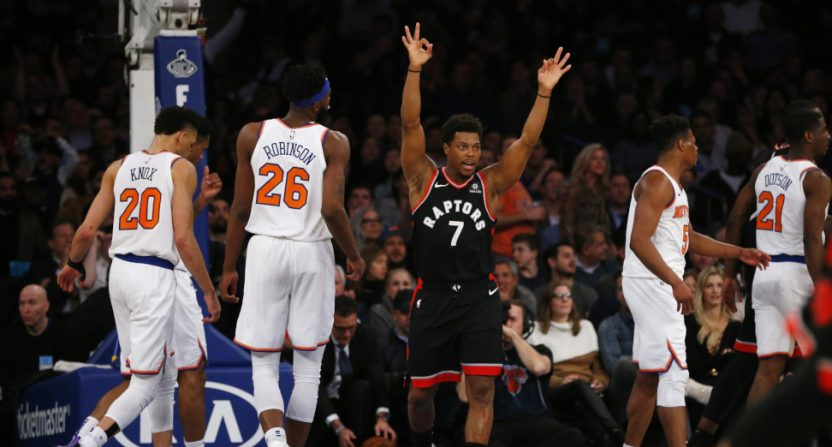 This year's NBA Christmas lineup has Kyle Lowry and the Raptors, but not the Knicks.