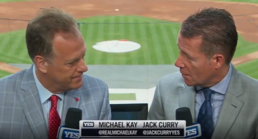 Michael Kay and Jack Curry on Aug. 18, 2019.