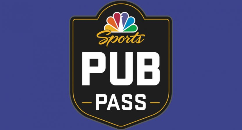 The NBC Sports Pub Pass.