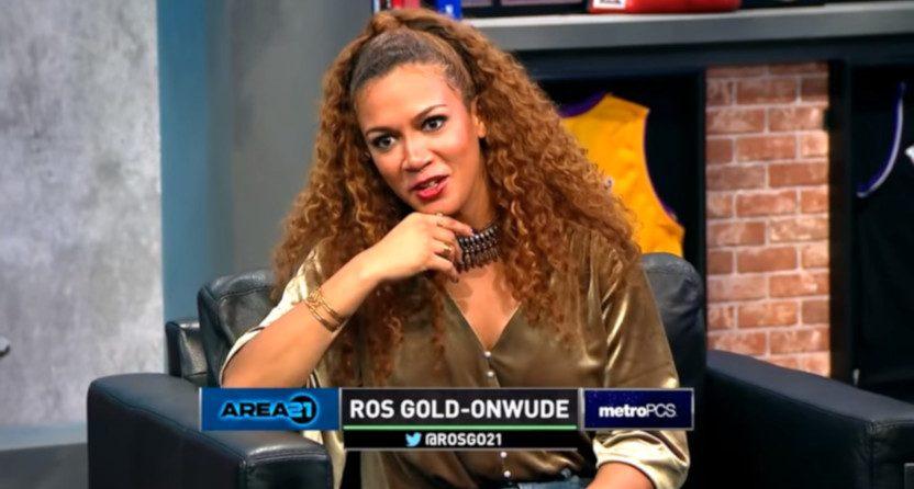 Rosalyn Gold-Onwude on Area 21.