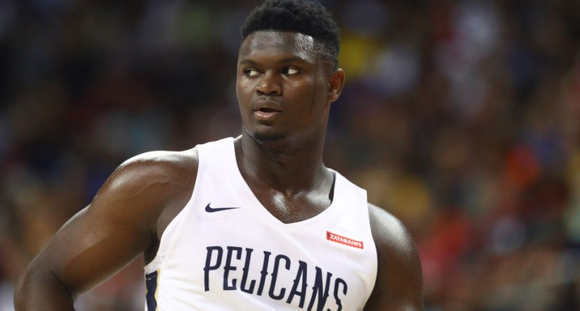 The Pelicans will be on TNT more this year thanks to Zion Williamson.