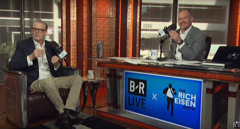 Craig Kilborn on The Rich Eisen Show.