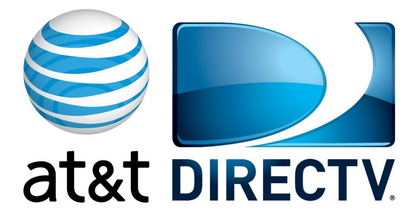 The AT&T and DirecTV logos.