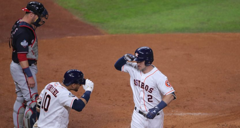 Game 6 of the 2019 World Series saw this homer from Alex Bregman.