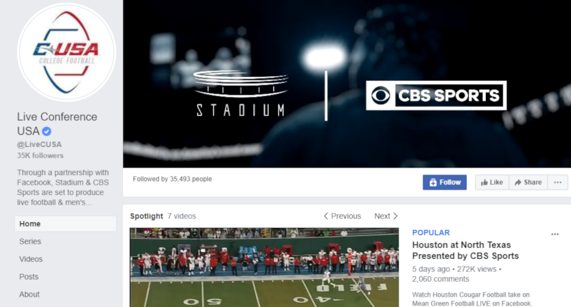 CBS' Facebook broadcast of Marshall-Middle Tennessee will include behind-the-scenes production truck tours.