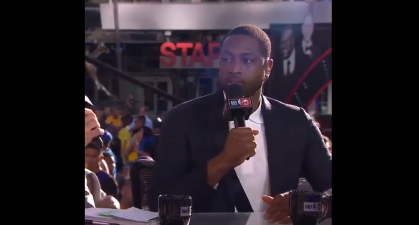 Dwyane Wade on the NBA on TNT.