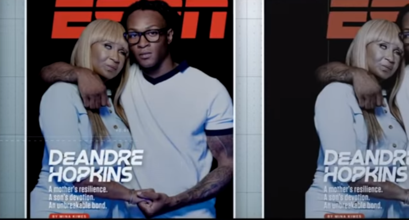 """The """"ESPN Cover Story"""" on DeAndre Hopkins and his mother."""