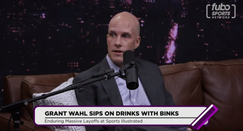 Grant Wahl on Drinks With Binks.