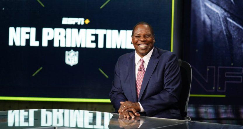 Tom Jackson on NFL Primetime.