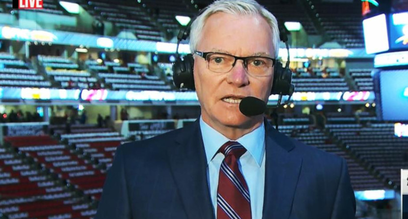 Long-time Hockey Night In Canada announcer Jim Hughson reportedly won't call games for Sportsnet this season
