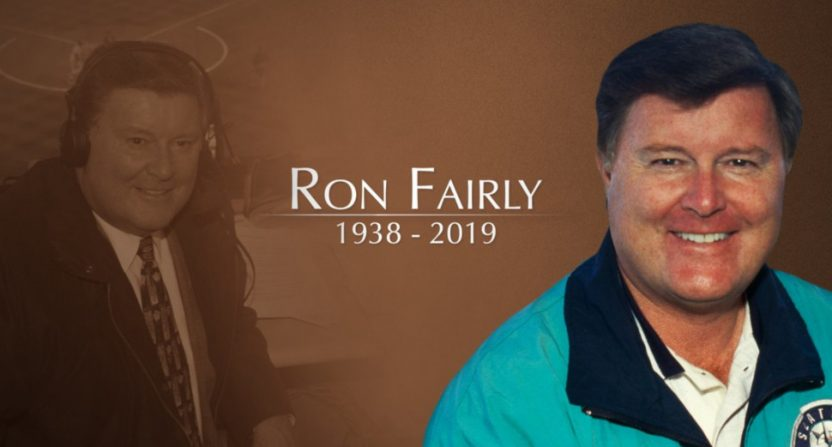 The Mariners' tribute to Ron Fairly.