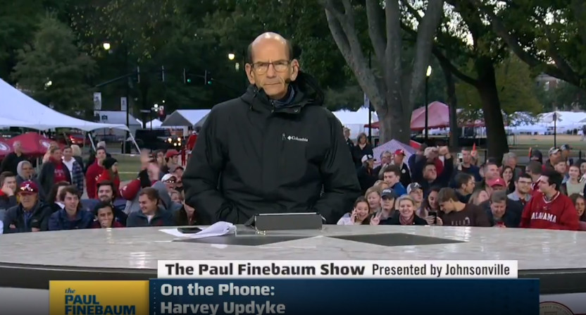 Harvey Updyke Jr. called into The Paul Finebaum Show in 2019, and somehow made it to air.