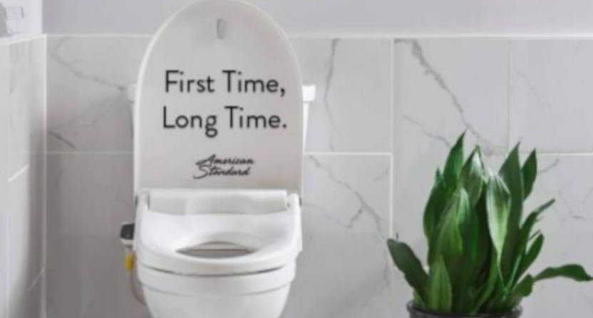 After #Fartgate, American Standard offered Mike Francesa this personalized bidet.