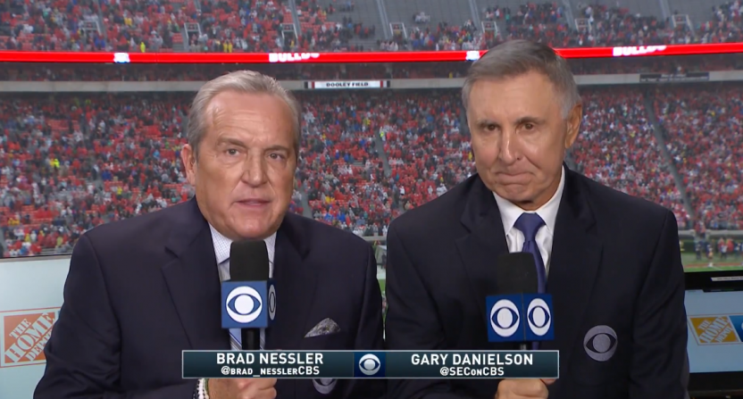 Gary Danielson apologizes for his commentary after Chamberlain Smith sideline injury