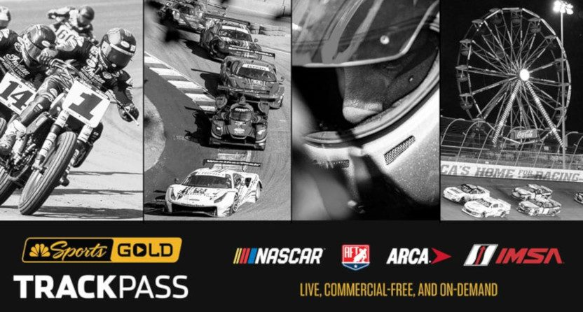 NBC Sports Gold's TrackPass.