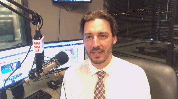 Ex-WWL host Seth Dunlap.