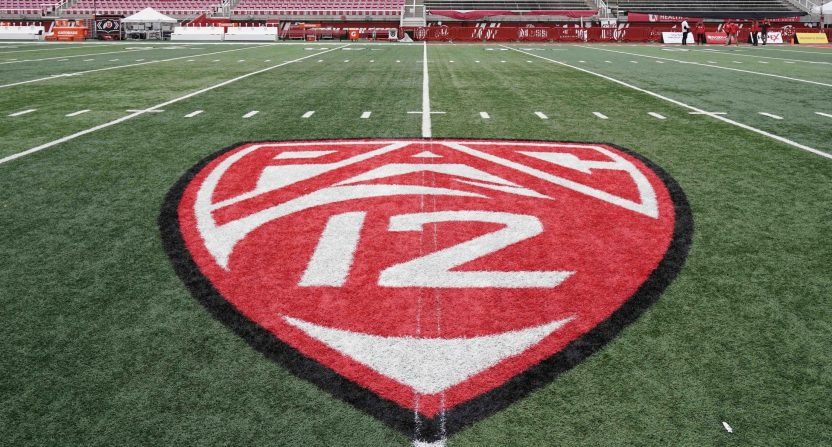 The Pac-12 logo.