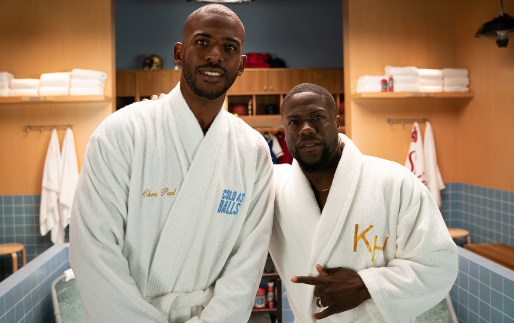 Kevin Hart's Cold As Balls returns for Season 3, guests include Chris Paul, Erin Andrews, Mark Cuban, Ninja Kevin Hart interviews sports stars in ice tubs again for Season 3 of Cold As Balls - Awful Announcing
