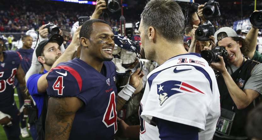 Sunday Night Football saw Deshaun Watson and the Texans beat Tom Brady and the Patriots, with a lot of people watching.