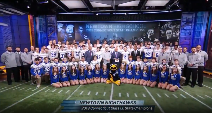 The Newton Nighthawks were featured on NBC's Sunday Night Football and mentioned on ESPN's Around The Horn this week.