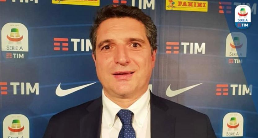 Serie A CEO Luigi De Siervo.