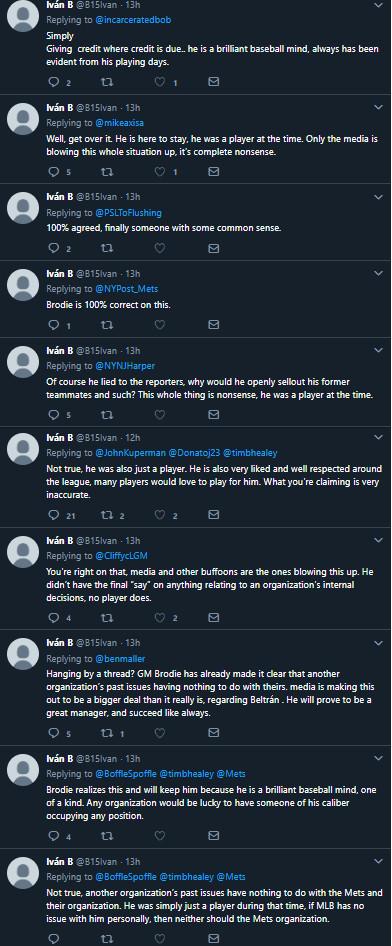 Ivan B tweets