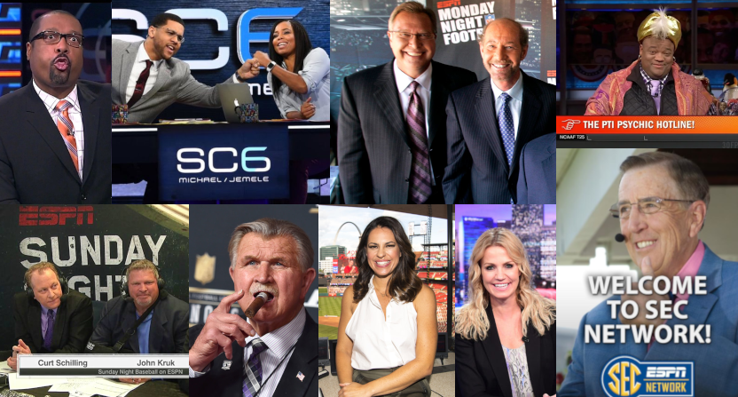 Some notable ESPN demotions phrased as reassignments over the years.