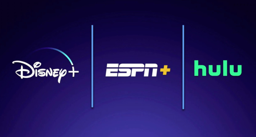 The Disney+/ESPN+/Hulu bundle.