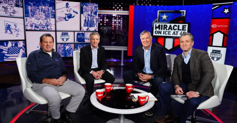 A still from the Miracle On Ice special ESPN will air Feb. 23.
