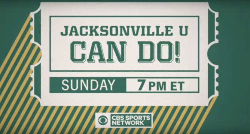 The Jacksonville U: Can Do! documentary is coming to CBSSN Sunday.