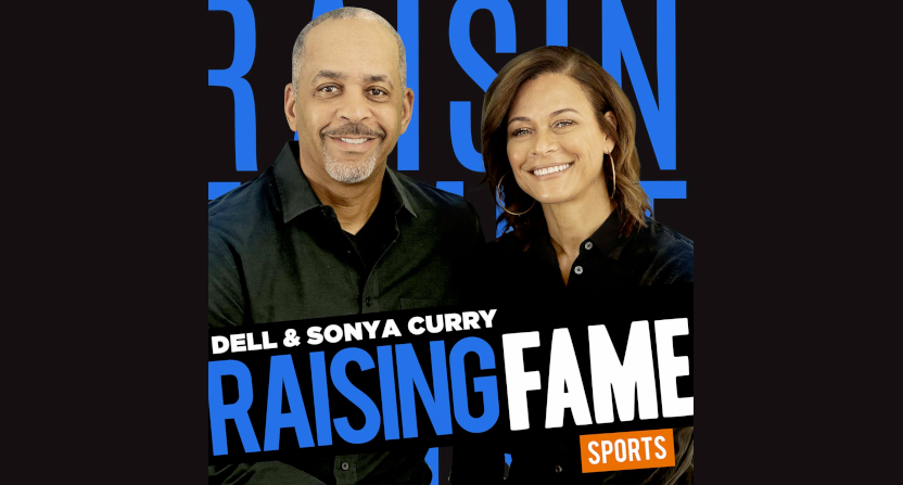 """""""Raising Fame: Sports Edition"""" sees Dell and Sonya Curry interviewing other athletes' parents and caregivers."""