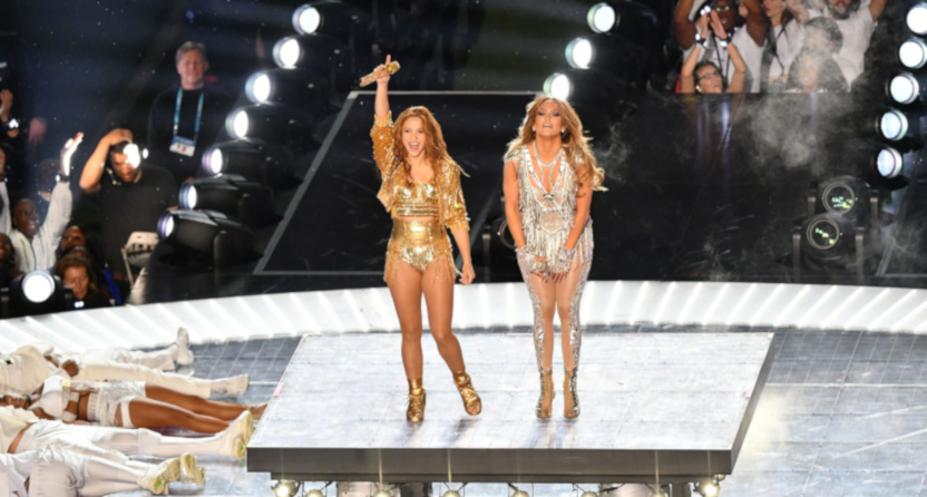USA Today amplified a dumb take on the Super Bowl LIV halftime performance from Shakira and Jennifer Lopez.
