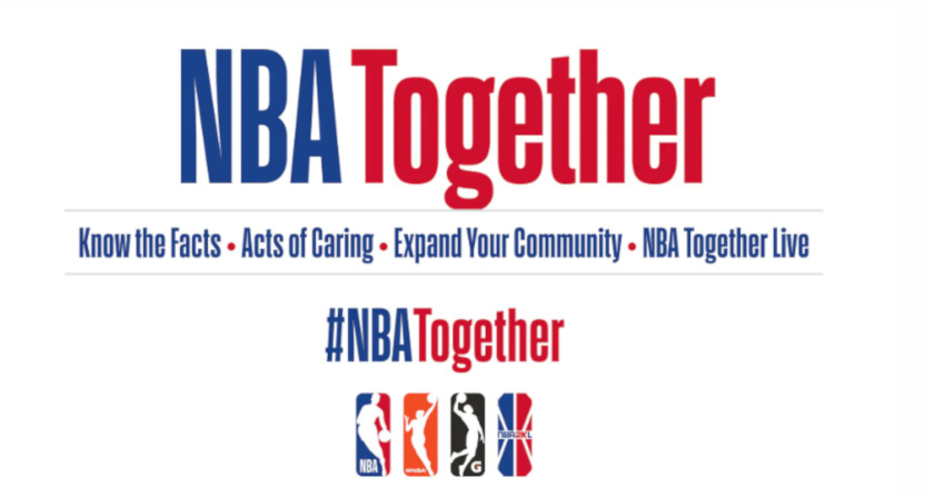 The NBA Together campaign.