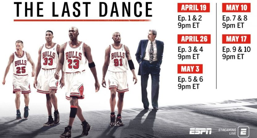 Three reasons why The Last Dance will and won't be ESPN's most ...