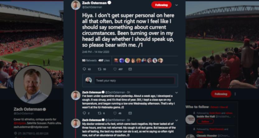 Zach Osterman on Twitter.