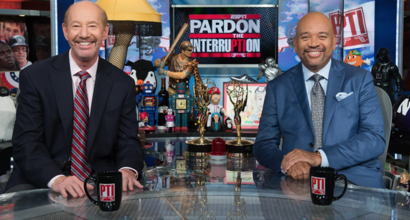 Tony Kornheiser has an idea for what 'PTI' could be while sports are on  hold Tony Kornheiser has an idea for what 'PTI' could be while sports are  on hold