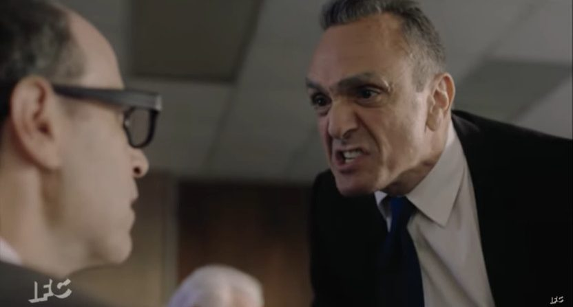 Brockmire yelling at MLB owners.