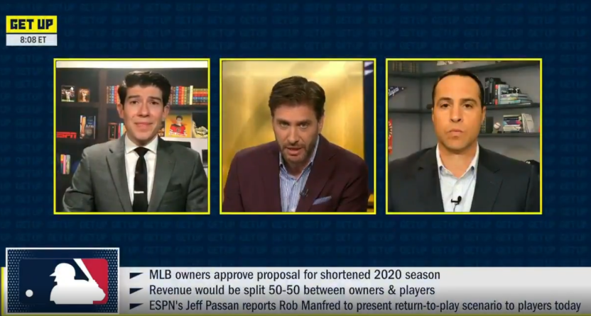ESPN's Jeff Passan, Mike Greenberg, and Mark Teixeira on Get Up